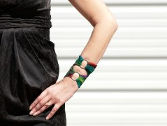 Fabric Wrist Wallet
