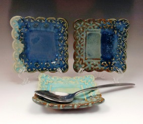 Square Picture Frame Trinket Dish
