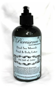 Puressence Dead Sea Mineral Lotion, 8oz