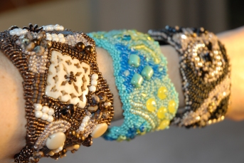 Swarovski Crystal Beaded Cuff