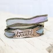 Just Breathe Wrap Bracelet