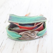 Infinity Symbol Wrap Bracelet