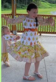 Olivia Twirl Skirt and Top