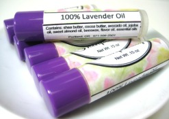 Lavendar Oil Lip Balm