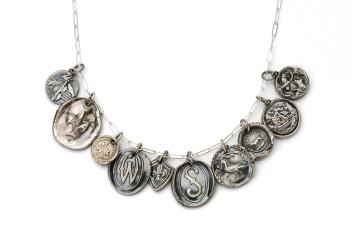 Fine Silver Pendants
