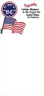"""Patriotic"" Magnetic Notepad"