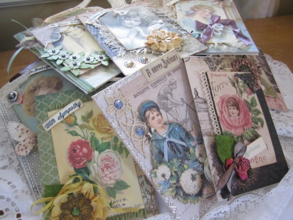 Vintage Greeting Card Pack, All Occasion