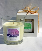 Hand-poured Soy Candle, Cotton Wick