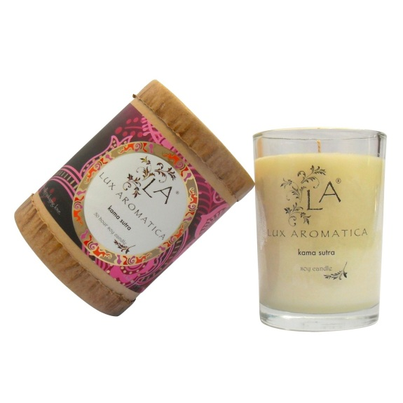 Hand-poured Kama Sutra Soy Candle