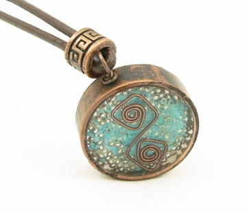 Orgone Energy™ Rustic Copper Pendant