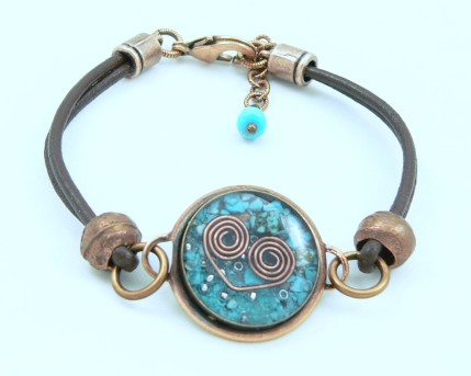 Orgone Energy™ Leather Friendship Bracelet