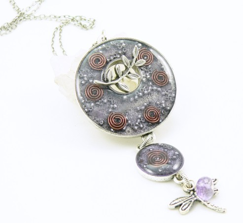 Orgone Energy™ Toggle Pendant Necklace