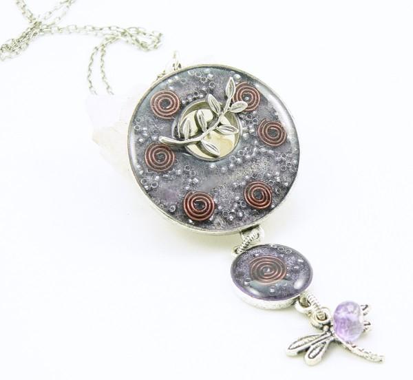 Orgone Energy™ Toggle Pendant Necklace