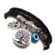 Protective Charm Wrap Bracelet