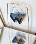 Geometric Earrings, Reclaimed