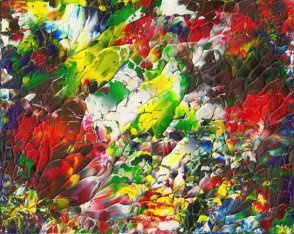 """Flower"" Abstract Painting"