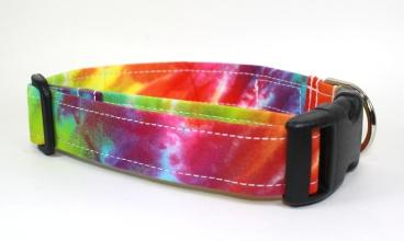 Tie Dye Dog Collar