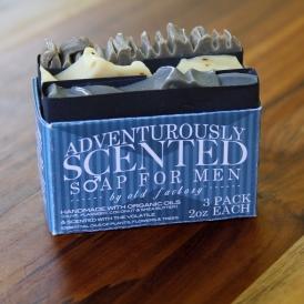 Adventurously Scented Mens Soap Sampler