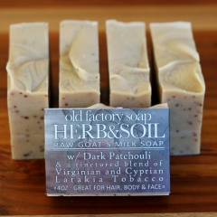 Herb & Soil Organic Goats Milk Soap-1