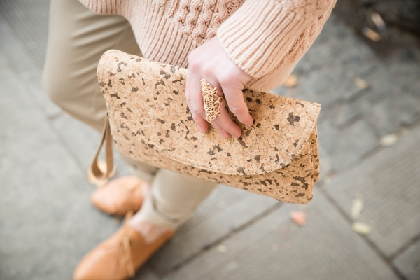Natural Cork Clutch L2P_107